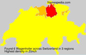Surname Wagenhofer in Switzerland