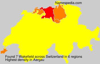 Surname Wakefield in Switzerland
