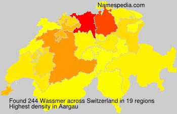Familiennamen Wassmer - Switzerland