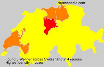 Surname Wellner in Switzerland