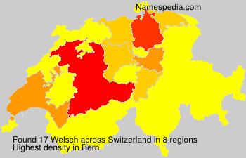 Familiennamen Welsch - Switzerland