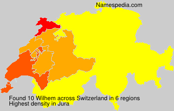 Familiennamen Wilhem - Switzerland