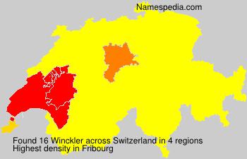 Familiennamen Winckler - Switzerland
