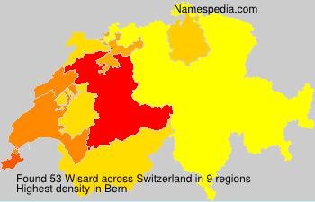 Surname Wisard in Switzerland