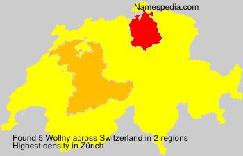 Surname Wollny in Switzerland