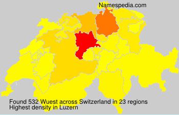 Wuest - Switzerland