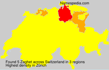 Surname Zaghet in Switzerland