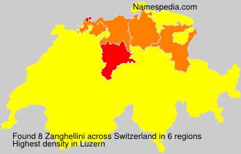 Surname Zanghellini in Switzerland