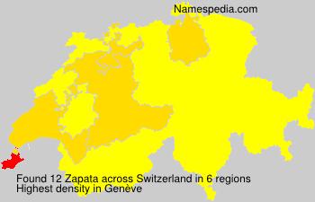 Familiennamen Zapata - Switzerland