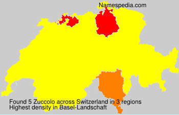 Surname Zuccolo in Switzerland