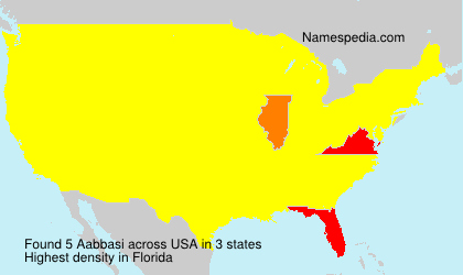 Surname Aabbasi in USA