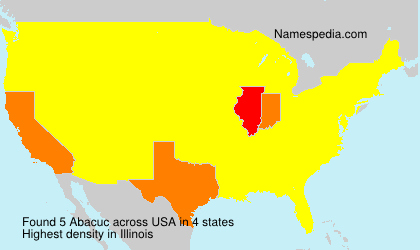 Surname Abacuc in USA