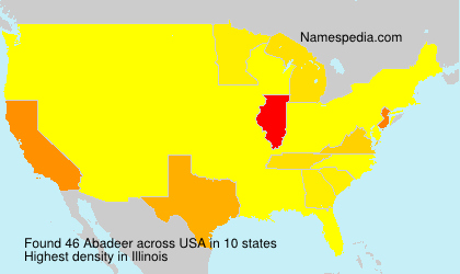 Surname Abadeer in USA