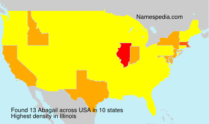 Surname Abagail in USA