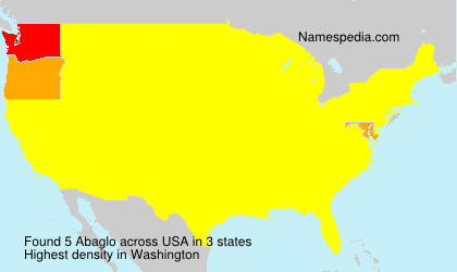 Surname Abaglo in USA