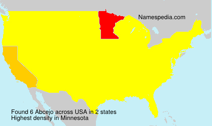 Surname Abcejo in USA