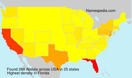 Surname Abdala In USA