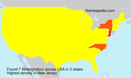 Surname Abdelghafour in USA