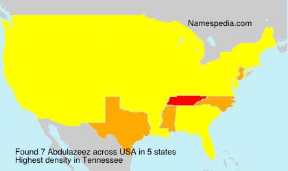 Abdulazeez - USA