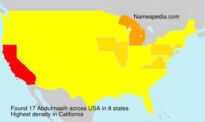 Abdulmasih - USA
