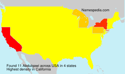 Surname Abdulqawi in USA
