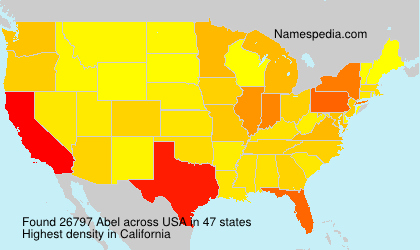 Surname Abel in USA