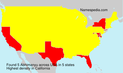 Familiennamen Abhimanyu - USA