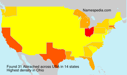 Surname Abirached in USA