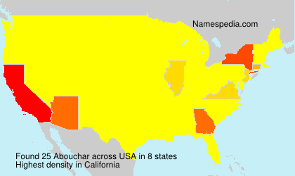 Surname Abouchar in USA