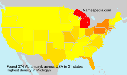 Surname Abramczyk in USA