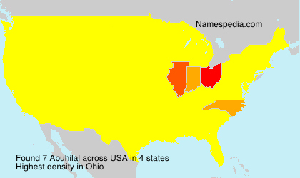Surname Abuhilal in USA