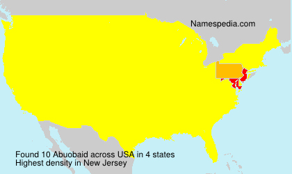 Surname Abuobaid in USA