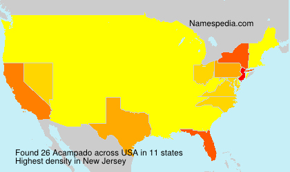 Surname Acampado in USA