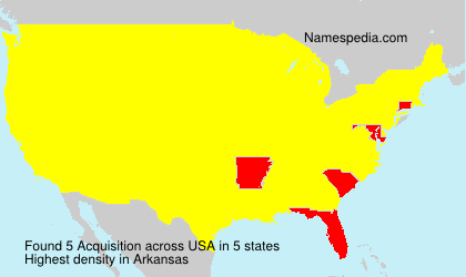 Surname Acquisition in USA
