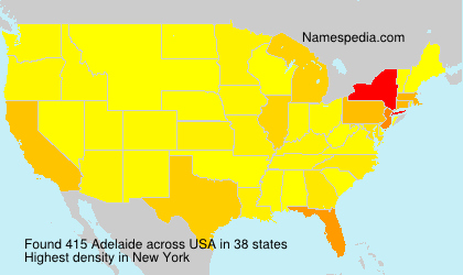 Surname Adelaide in USA