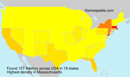 Surname Adelino in USA