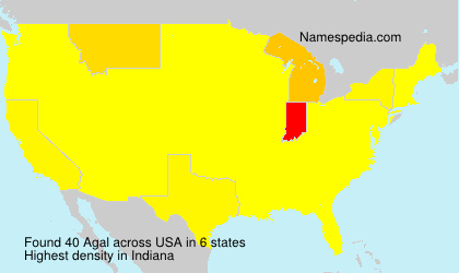 Surname Agal in USA