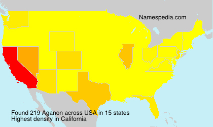 Surname Aganon in USA