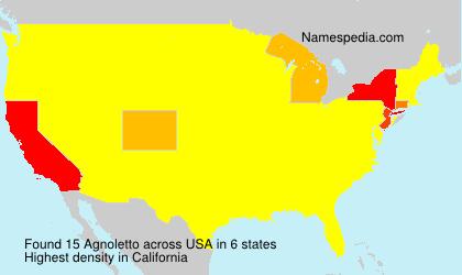 Agnoletto - USA