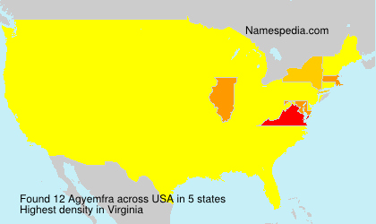 Surname Agyemfra in USA