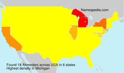 Ahmedani - USA