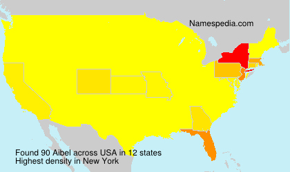 Surname Aibel in USA