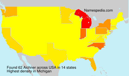 Surname Aichner in USA