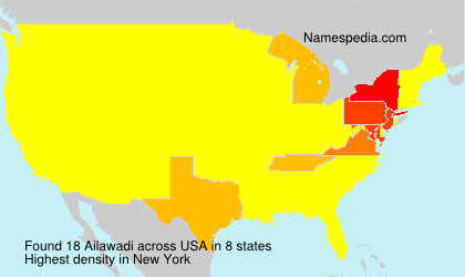 Surname Ailawadi in USA