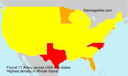 Familiennamen Aileru - USA