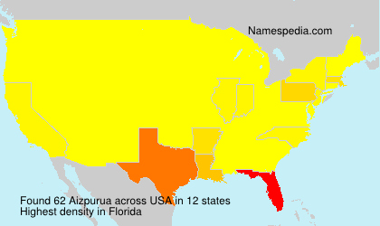 Surname Aizpurua in USA
