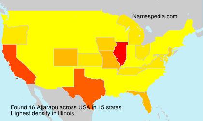 Surname Ajjarapu in USA