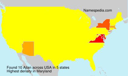 Surname Ajlan in USA