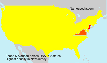 Surname Aladhab in USA