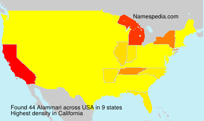 Surname Alammari in USA